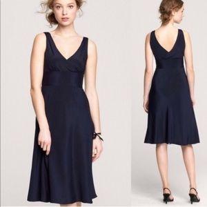 J. CREW | Sophia Silk Tricotine Dress NWT LBD